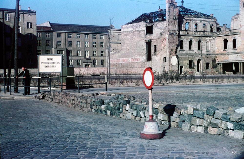 Heinz Vontin 1954 Berlin Sektorengrenze